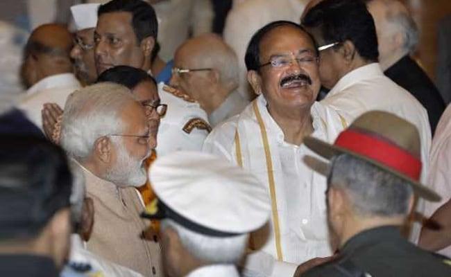 PM Narendra Modi Welcomes 'Farmer's Son' Venkaiah Naidu to High Post, Congress Defensive