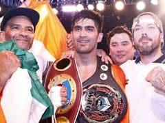 प्रो बॉक्सिंग में विजेंदर सिंह की जीत का सिलसिला जारी, चीन के बॉक्सर को भी किया चित