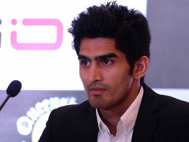 Lok Sabha Elections: Aspiring To Be India's Manny Pacquaio, Says Boxer Vijender Singh