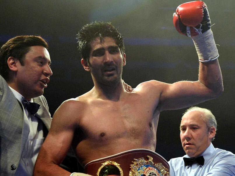 Vijender Singh vs Zulpikar Maimaitiali, Highlights: Indian Star Wins 2nd Title, 9th Consecutive Bout