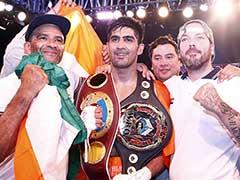 Nine Is Fine: Vijender Singh Retains Asia Pacific, Wins Oriental