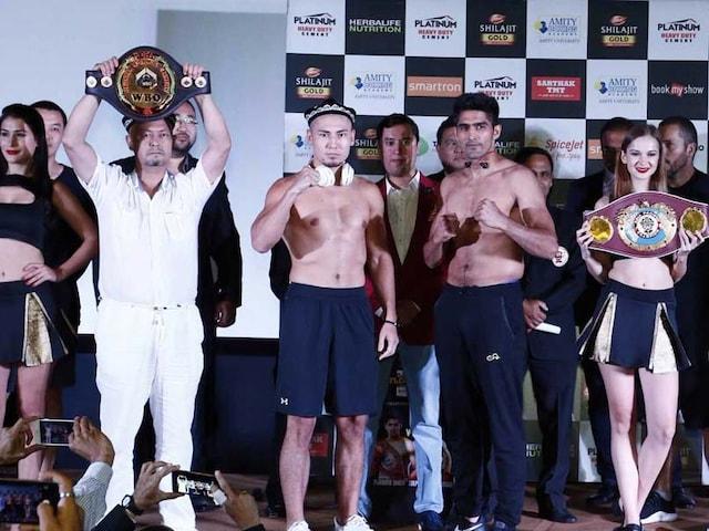 Vijender Singh Aims To Keep Unbeaten Record Intact Against Zulpilkar Maimaitiali