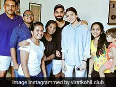 Anushka, Virat Join Lankan Fans For A Photo, Coach Ravi Shastri Spotted