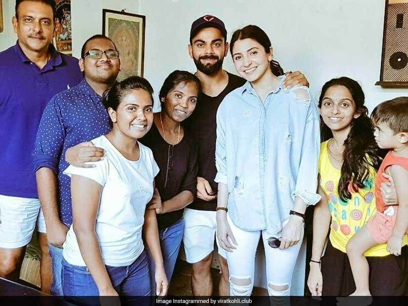Anushka, Virat Join Lankan Fans For A Photo, Coach Ravi Shastri Spotted