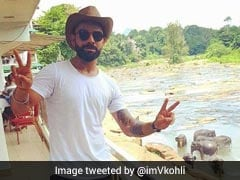 Virat Kohli's Day Out With The 'Gentle Giants' In Sri Lanka