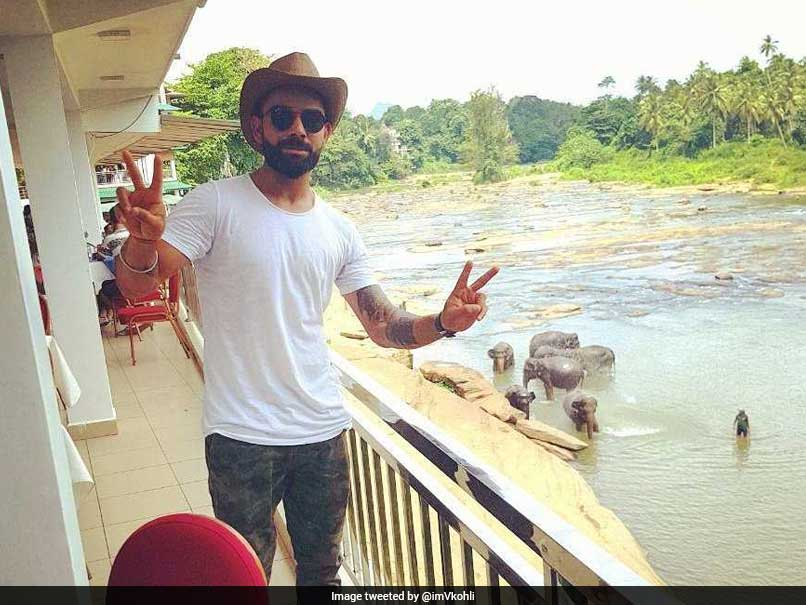 Virat Kohlis Day Out With The Gentle Giants In Sri Lanka