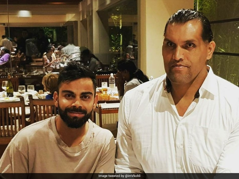 India vs Sri Lanka: Virat Kohli Meets The Great Khali And Twitter Is Amused