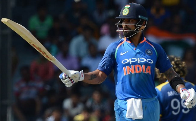 INDvsSL 4th ODI : रोहित शर्मा और विराट कोहली के शतक के बोझ तले दबा श्रीलंका, चौथा वनडे 168 रन से हारा
