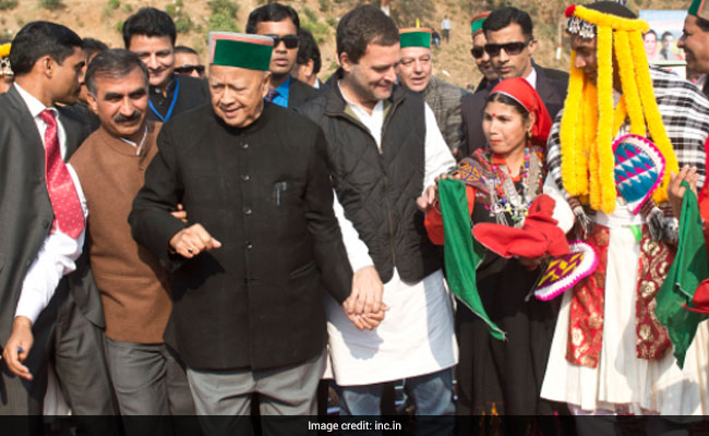 Virbhadra Singh, 83, vs PK Dhumal,73, In Himachal Again, Sons Waiting In The Wings