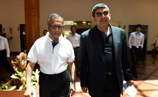 Narayana Murthy Praises Nandan Nilekani, Says He Doesn't Need Advice
