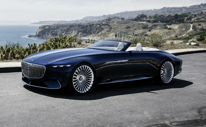 vision mercedes-maybach 6 cabriolet unveiled at pebble beach - ndtv