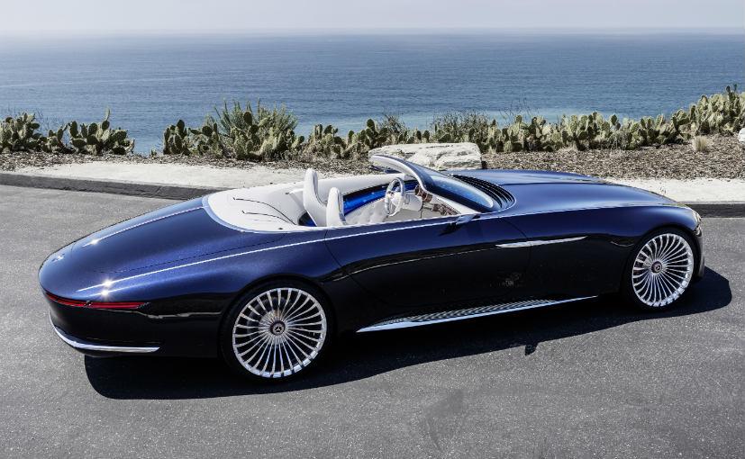 vision mercedes maybach 6 cabriolet