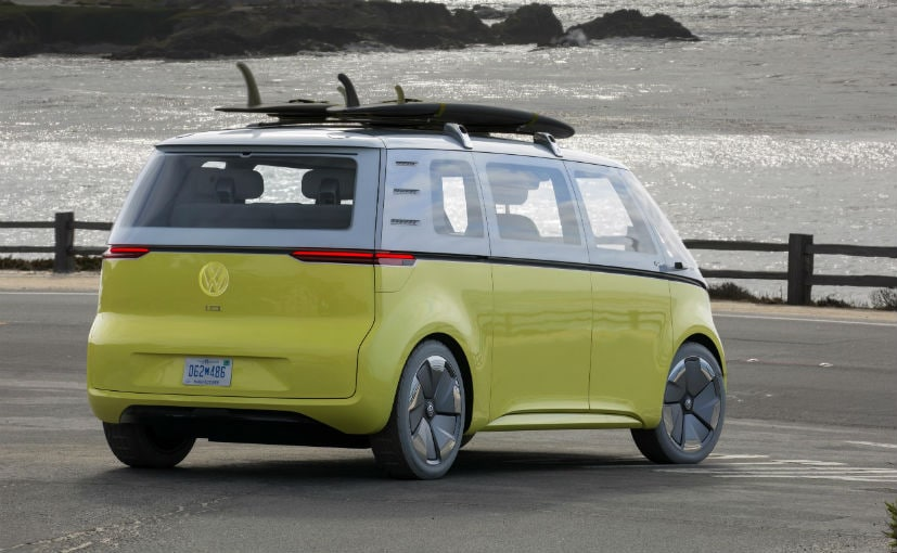 volkswagen id buzz electric concept