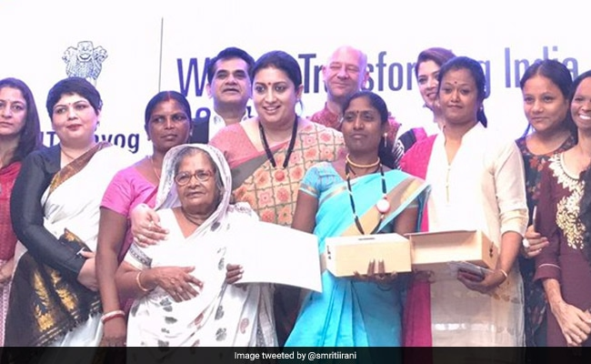 Niti Aayog Awards 12 Women For 'Transforming India'
