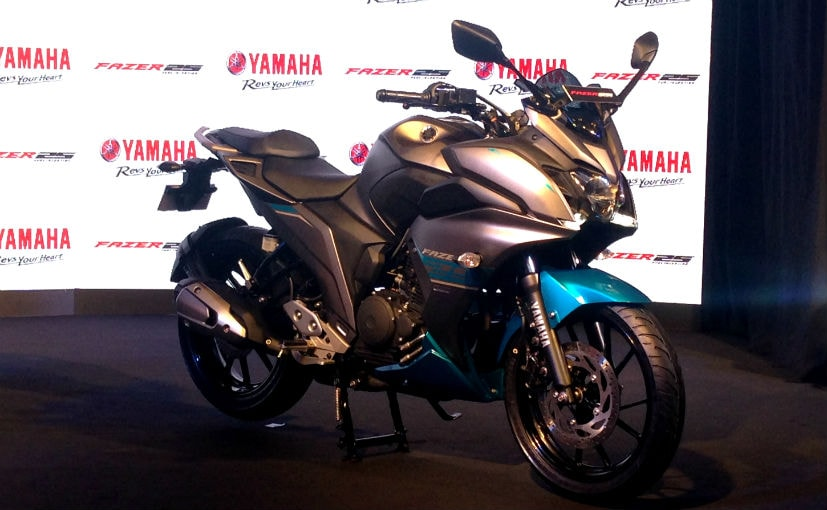 The newly launched Yamaha Fazer 25 is not available with ABS, even as an option