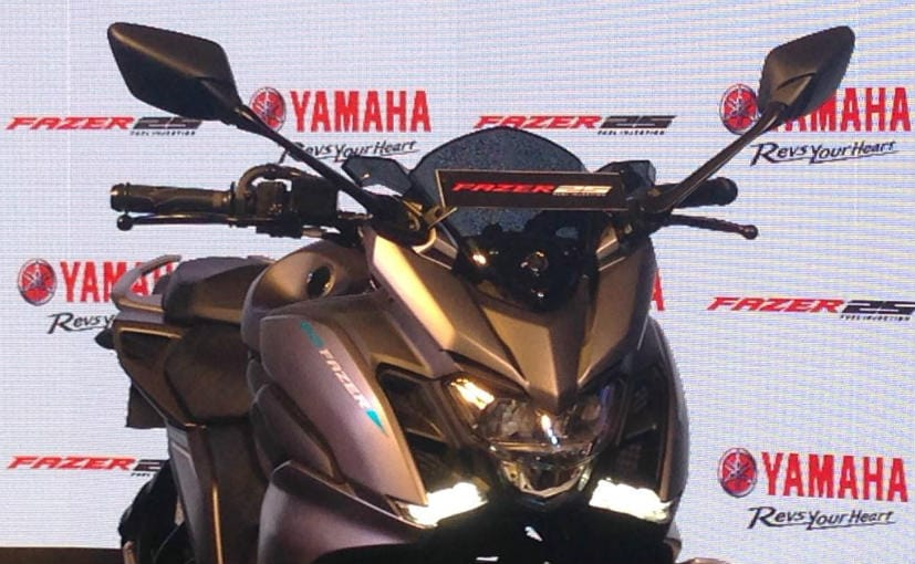 Image result for Yamaha Fazer 25 unveiled in India at Rs 1.29 Lakh