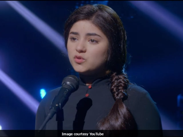 zaira wasim youtube