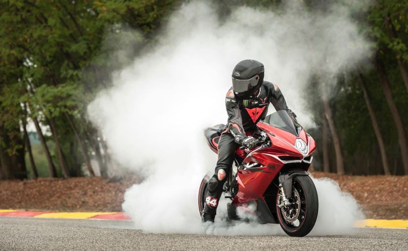 The MV Agusta F4 LH44 gets a power boost of 7 bhp