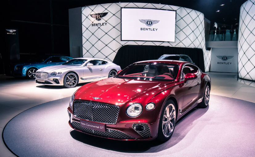 2018 bentley continental gt to be launched this month - ndtv carandbike