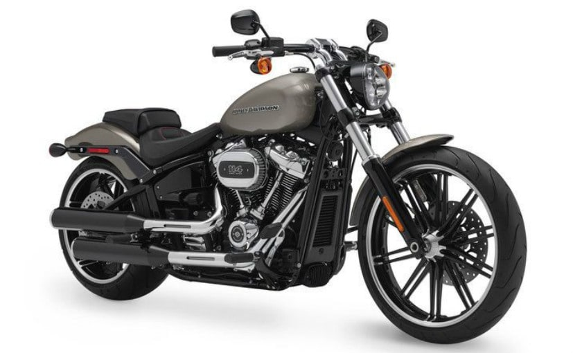 Harley-Davidson has introduced the 2018 Breakout globally