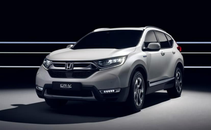 Frankfurt 2017 honda cr v hybrid prototype breaks cover for Honda crv 2017 vs 2018