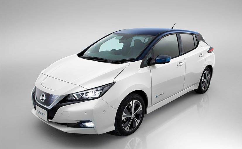 production of new nissan leaf to begin in us and uk this year ndtv carandbike. Black Bedroom Furniture Sets. Home Design Ideas