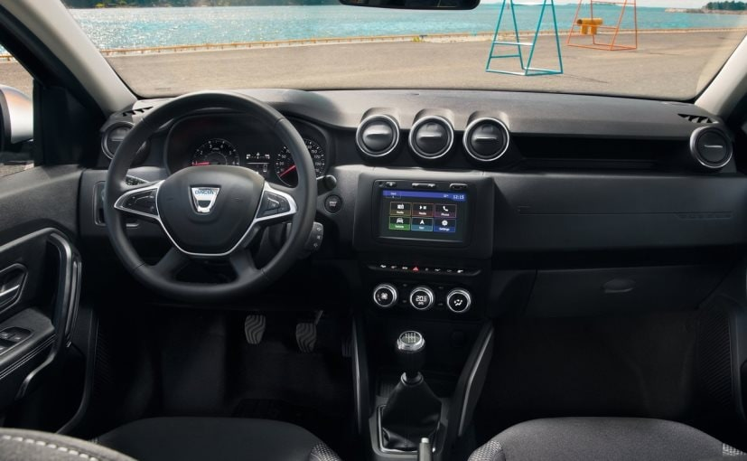 2018 renault duster interior
