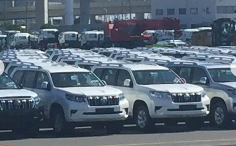 novo jeep 2018. exellent jeep 2018 toyota land cruiser prado facelift spotted ahead of frankfurt debut in novo jeep