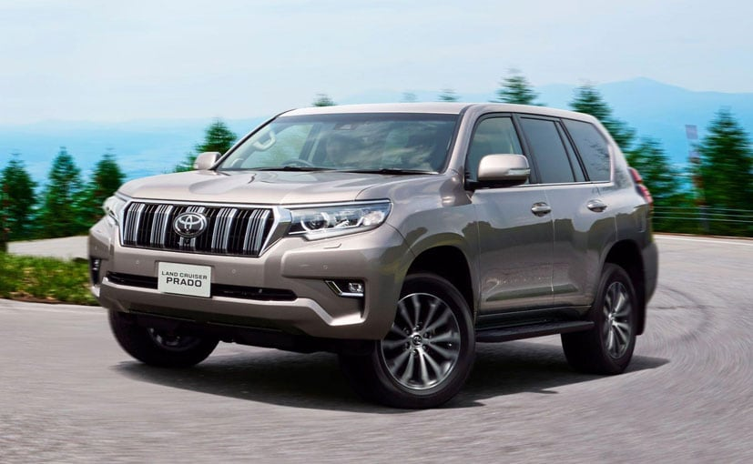 Toyota unveils updated Prado