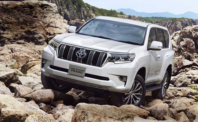 The 2018 Toyota Land Cruiser Prado competes with the Audi Q7, Mercedes-Benz GLS and the likes