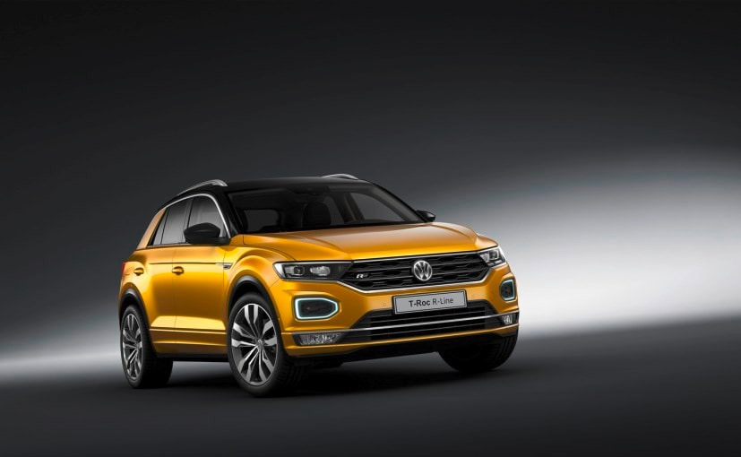 The R Line Is Meaner Looking Version Of New Vw T Roc