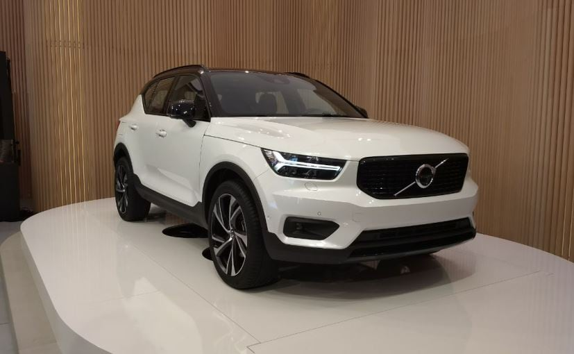 Volvo Xc40 Unveiled Will Launch In India 2018