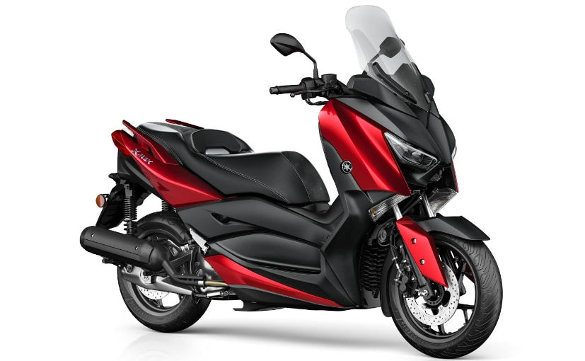 2018 yamaha x max 125 scooter unveiled ndtv carandbike. Black Bedroom Furniture Sets. Home Design Ideas