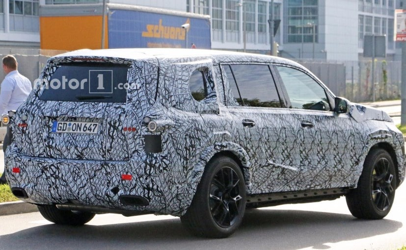 2019 Mercedes Benz Gls Spotted Testing For The First Time