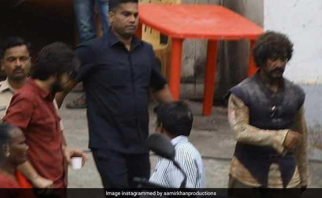 लीक हुआ आमिर खान का लुक, ठग्स ऑफ हिंदोस्तान में कुछ इस अंदाज में आएंगे नजर