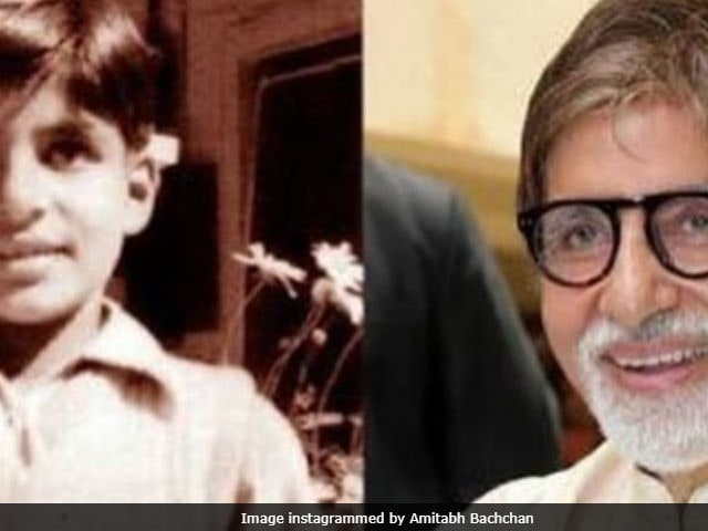 Amitabh Bachchan, Then And Now, In A Fabulous Throwback Pic