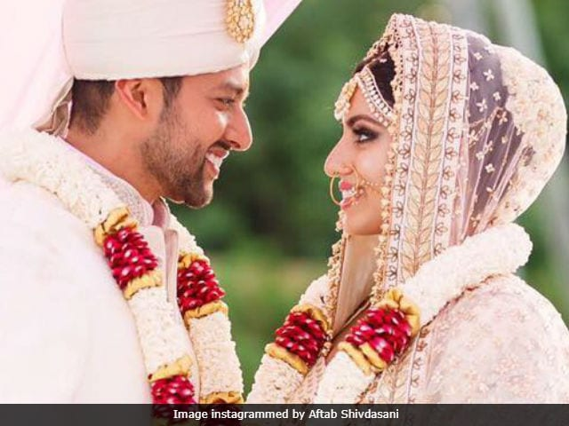 Inside Aftab Shivdasani And Nin Dusanj's Dreamy Sri Lankan Wedding