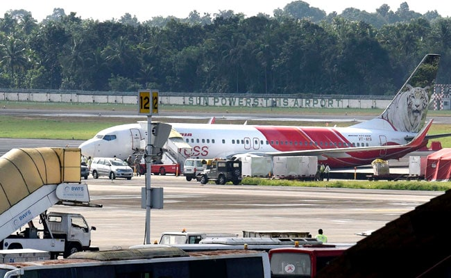 Air India flight from Abu Dhabi veers off the taxiway in Kochi