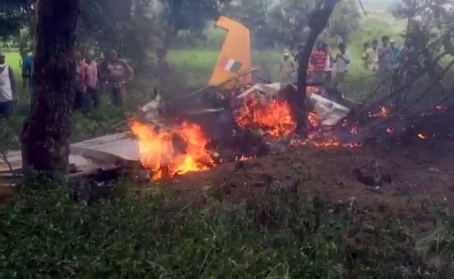 Air Force Trainer Jet Crashes Near Hyderabad, Pilot Ejects Safely