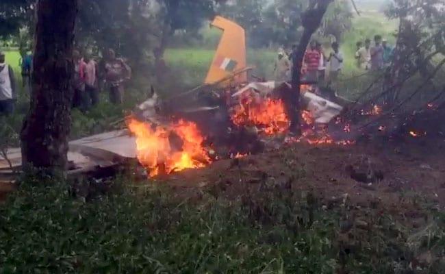 भारतीय वायुसेना का ट्रेनर विमान हैदराबाद के पास क्रैश, पायलट सुरक्षित