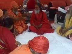 अखाड़ा परिषद ने की अयोध्या में भव्य राम मंदिर बनाने और कश्मीर से धारा 370 हटाने की मांग