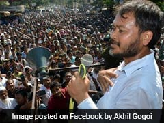 RTI Activist Akhil Gogoi Arrested In Assam Ahead Of Amit Shah's Visit