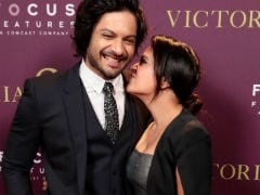 Richa Chadha And Ali Fazal Strike Couple Poses At <i>Victoria And Abdul</i> Screening