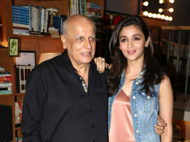 Alia Bhatt Posts An Adorable Wish For Her 'Old Man' Mahesh Bhatt