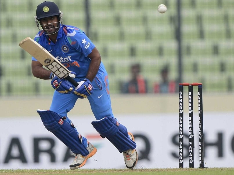Ambati Rayudu Handed Two-Match Ban For Breaching BCCI Code Of Conduct