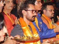 डांडिया में पहुंचा 'हिंदुस्तानी ठग', शुरू किया 'सीक्रेट सुपरस्टार' का प्रमोशन