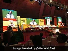 At Opening Speech At Huge BJP Meet, Amit Shah Targets Rahul Gandhi