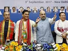 At Meet On Northeast, Amit Shah Spells Out His Goal: A Perfect 8