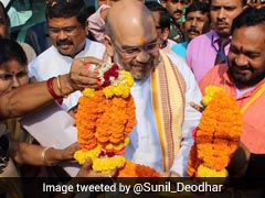 Amit Shah In Odisha To Prepare For BJP's 'Mission 120'