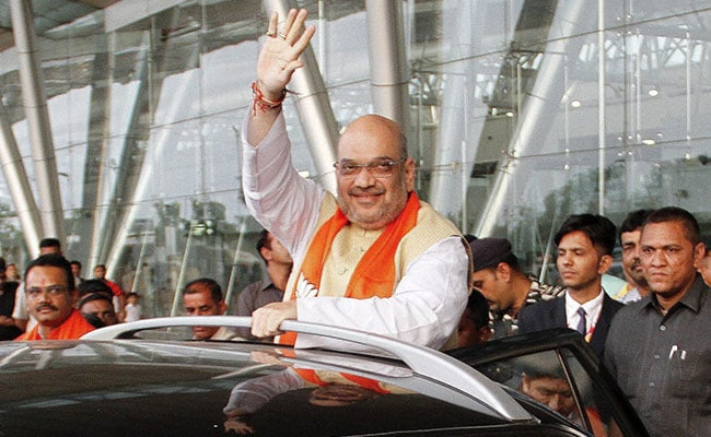 Amit Shah's Dig At Hardik Patel: 'Leaning Towards A Particular Party'